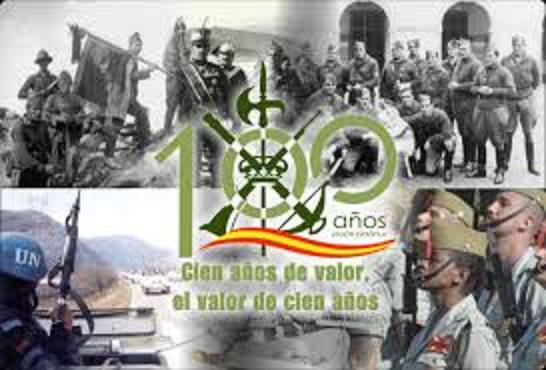 100 años legion española