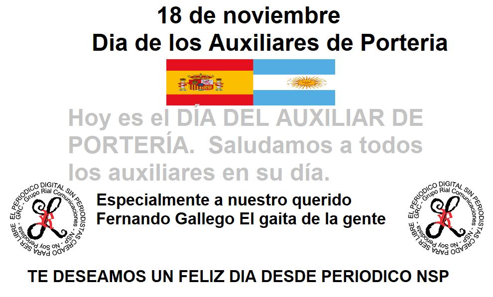 dia 18denoviembre_dia_de_los_auxiliares_de_porteria_dedicado_a_FER_Gaita